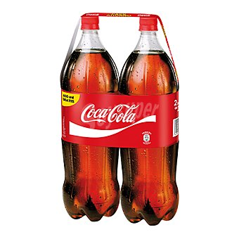 Coca-Cola Cola normal Botella pack 2 x 2200 cc - 4400 cc