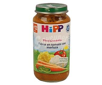 HiPP Biológico Tarrito de fideos en tomate con merluza desde los 12 meses Envase 250 g