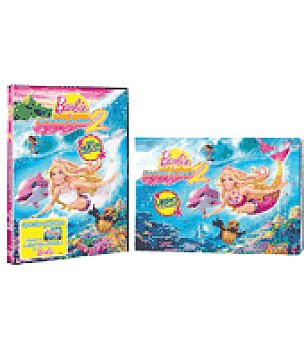 Barbie Aventura de sirenas 2 ed dvd
