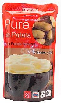Hacendado Pure patata (calentar y listo) Sobre 265 g