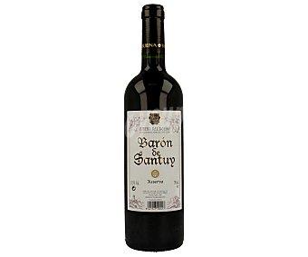 BARON DE SANTUY Vino Tinto Ribera del Duero Reserva Botella 75 Centilitros