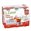 Yogur líquido fresa pack 6 unidades 100 g Pack 6 unidades 100 g DIA LIFEFORM
