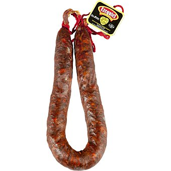 Ezequiel Chorizo picante extra de herradura peso aproximado pieza 500 g