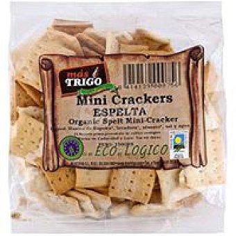 TRIGO Cracker de espelta MÁS Bolsa 150 g