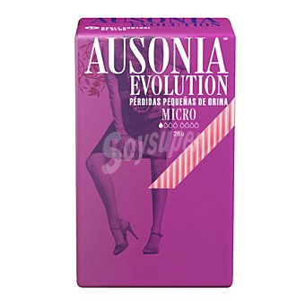 Ausonia Compresa Evolution Micro 26 ud