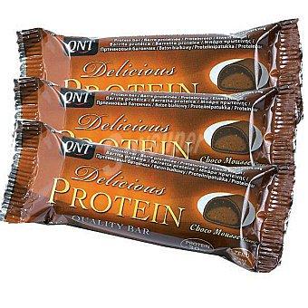QNT Delicious Protein Barrita sabor chocolate Estuche 105 g