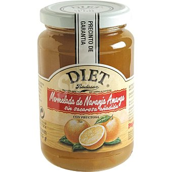 Diet Rádisson mermelada de naranja amarga con fructosa sin sacarosa añadida frasco 375 g
