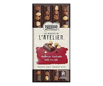 Nestlé Chocolate negro avellanas recetas atelier Tableta 195 g