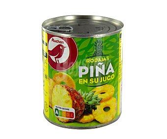 Producto Alcampo Piña en su jugo 490 g