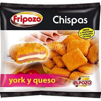 Fripozo Chispas de jamón york y queso Estuche 260 g