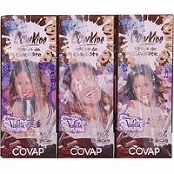 Covap Batido de chocolate Cow Kids-Disney Violeta Pack 3