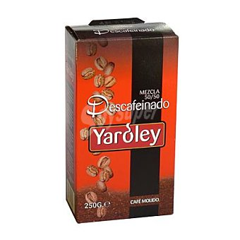 Yaroley Café molido mezcla descafeinado 250 g