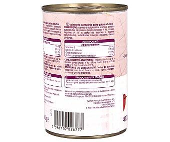 Auchan Comida Húmeda para Gato de Bocaditos en Salsa de Bacalao 400g