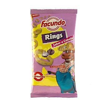 FACUNDO Ring sabor cebolla  bolsa 80 gr