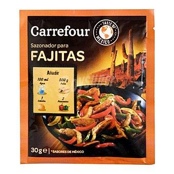 Carrefour Sazonador para fajitas 30 g