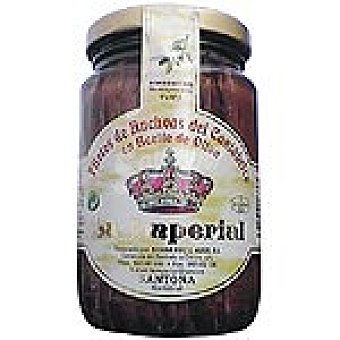 LA IMPERIAL Filetes de anchoa del Cantábrico en aceite oliva Frasco 375 g neto escurrido