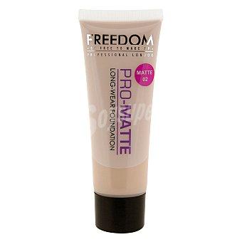 Freedom Maquillaje Foundation Pro-Matte 02 1 ud