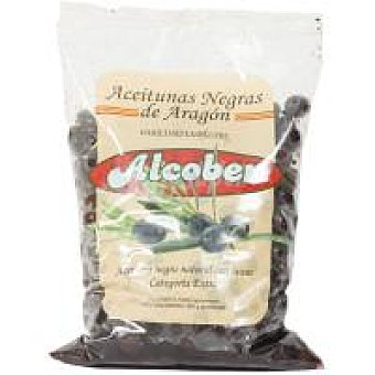 Alcober Aceitunas negras de Aragón variedad empeltre Bolsa 1 kg