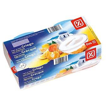 DIA Yogur griego con citricos Pack 4 unidades 125 g