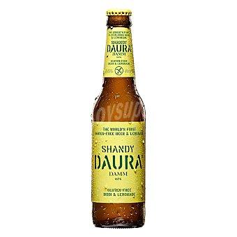 DAURA Shandy Cerveza Daura shandy sin gluten Botella 33 cl