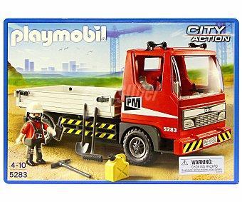 PLAYMOBIL Playset Camión de Construcción, Modelo 5283 1 Unidad