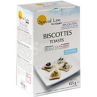 Special Line Fette Biscottate sin gluten sin lactosa Envase 125 g
