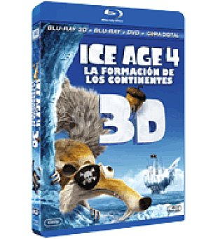 Ice Age 4: formac contienent br 3D