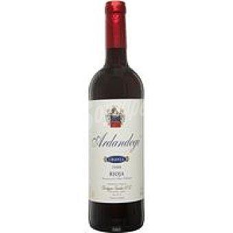 ARDANDEGI Vino tinto Rioja crianza 75 cl