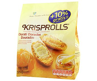 Krisprolls Panecillos dorados naturales 225 g