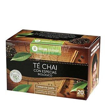 Intermón Oxfam Té chai con especias 20 unidades