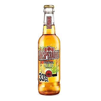 Desperados Cerveza combinada con tequila Botella de 33 centilitros