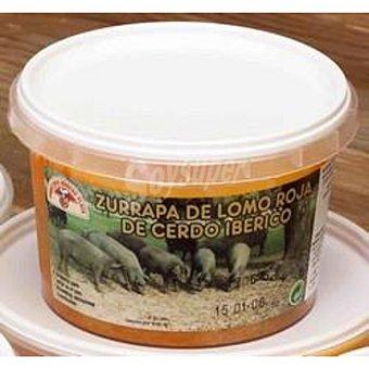 Embutidos Moreno Plaza Zurrapa de lomo de cerdo ibérico Lata 220 gr