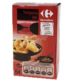 Carrefour Tempura Kit receta japonesa 170 g