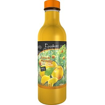 EXCELLENT Zumo natural de mandarina Botella 750 ml