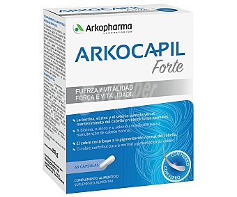 ARKOPHARMA ARKOCAPIL FORTE Complemento alimenticio para el mantenimiento del cabello ARKIPHARMA Arkocapil forte 60 uds. 60 uds
