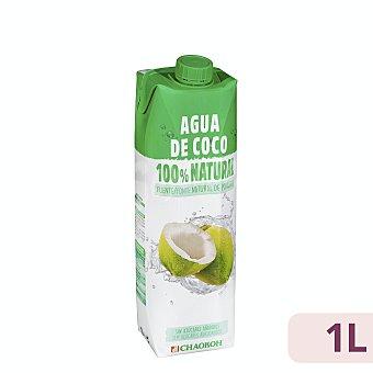 Chaokoh Agua de coco 100% natural  Brik 1 l