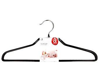 Auchan Perchas antideslizantes camisa 3 Unidades