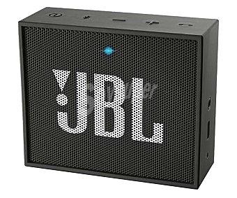 JBL Mini altavoz por batería, conexión 3.5mm, Bluetooth, color negro