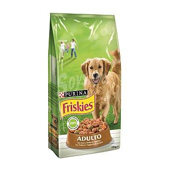 Purina Friskies Comida para perros Adulto con Aves y Verduras 10 kg