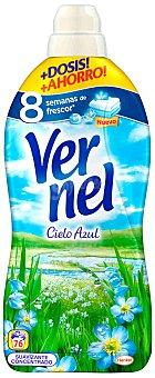 Vernel Suavizante Vernel Cielo Azul 1,7 L 76 dosis