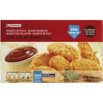 Eroski Nuggets con salsa Caja 300 g