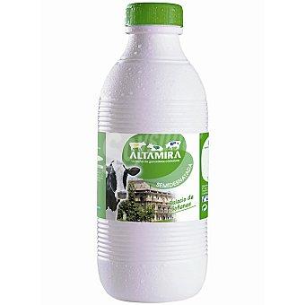 ALTAMIRA Leche semidesnatada botella 1,5 L