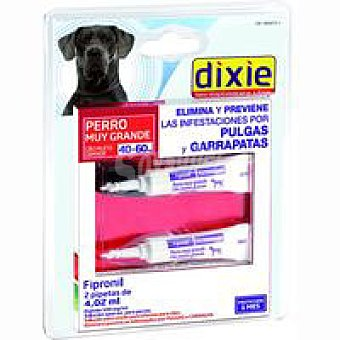 Dixie Pipetas Fipronil +40 kg Pack 4,