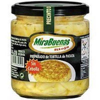 MIRABUENAS Preparado de tortilla sin cebolla Tarro 340 g