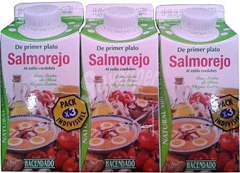 HACENDADO Salmorejo 3 x 330 cc