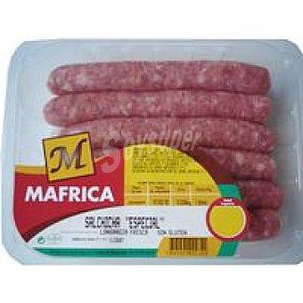 Mafrica Salchicha especial Peso aproximado