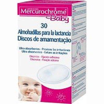 MERCUROCHROME BABY Discos para lactancia Pack 30 unid