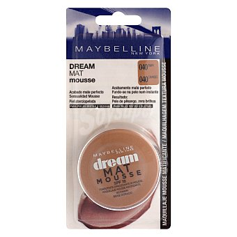 Maybelline New York Maquillaje Dream Mat Mousse nº040 canelle 1 ud