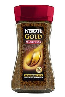 Nescafé Café descafeinado soluble Gold de Bote de 100 gramos