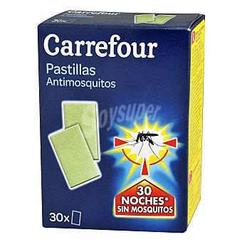 Carrefour Insecticida eléctrico de pastilla antimosquitos 30 unidades